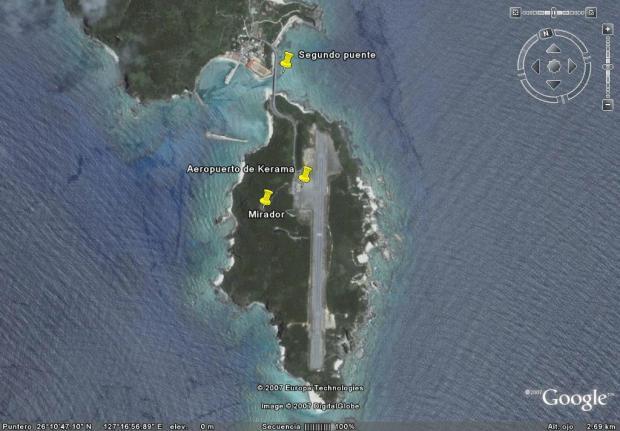 Geruma, la isla es un aeropuerto