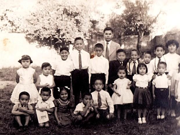Escuela de idioma japonés de la Asociación Japonesa de Santa Fe. Año 1965 aprox.