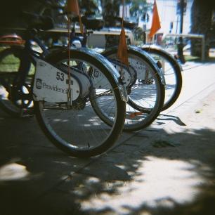 bicis de la comuna de Providencia