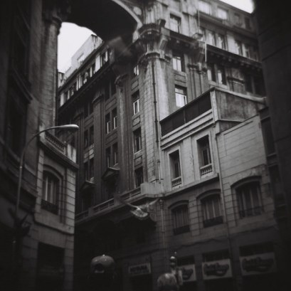 Algunas galerías de Santiago tienen una arquitectura muy interesante
