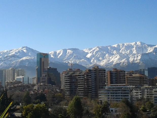así se ven las montañas al día siguiente