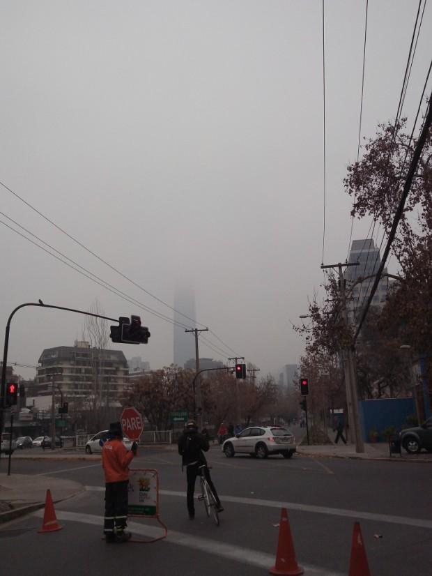 un día de invierno en Santiago