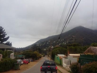 pueblito rodeado de cerros