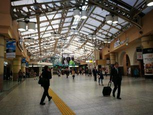 Estación de trenes Ueno de JR