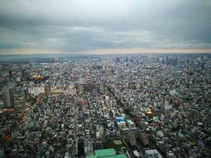 Vista desde el Tōkyō Skytree
