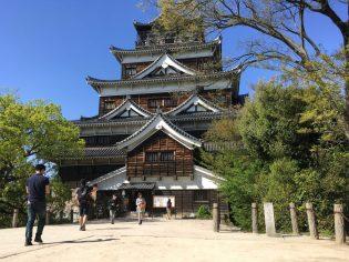 Un castillo de Hiroshima completamente reconstruido