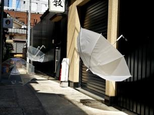 Paraguas en Kagurazaka