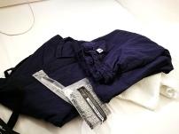 pijama, cepillo de dientes y toallas