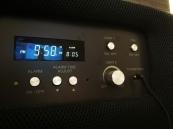 despertador y control para luz y volumen