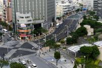 Intersección de Kokusai-dori y Kenchomae-dori